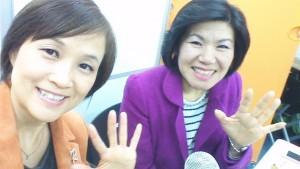 沖本るり子さん(左)、平原由美(右)